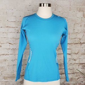 Helly Hansen Teal Base Layer Top M EUC